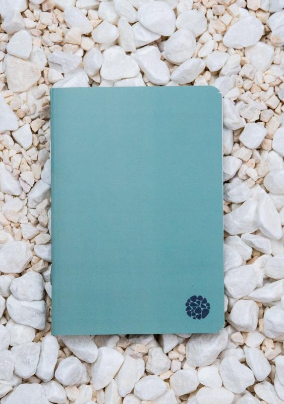 Roca stone paper - Pocket Journal A6 - Green