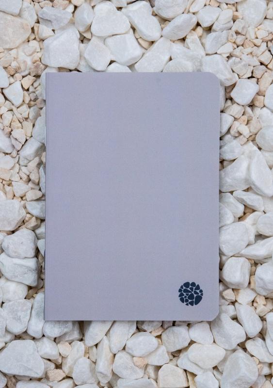 Roca stone paper - Pocket Journal A6 - Grey