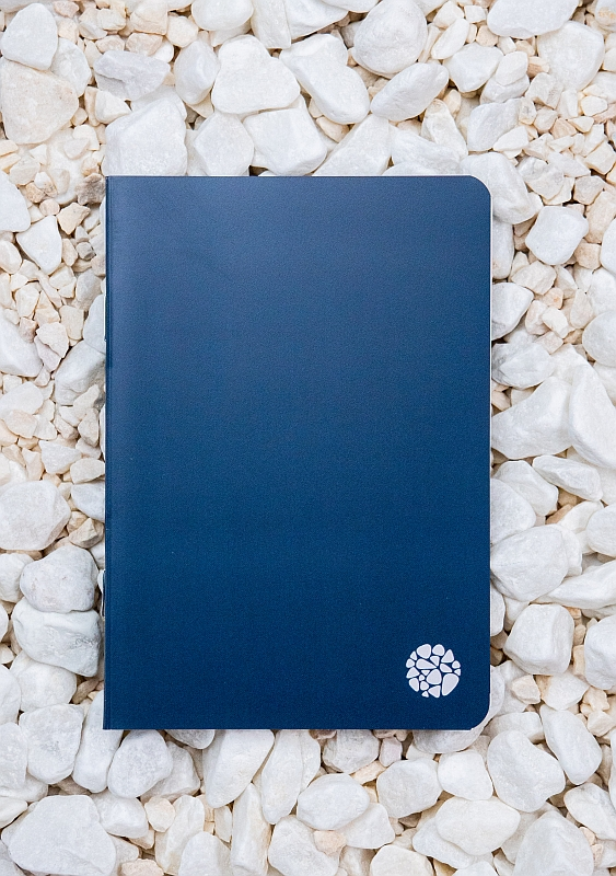 Roca stone paper - Pocket Journal A6 - Indigo