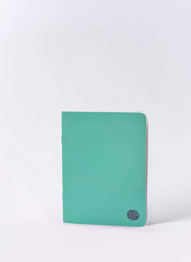 Roca Stone paper notebook Pocket Journaly Green