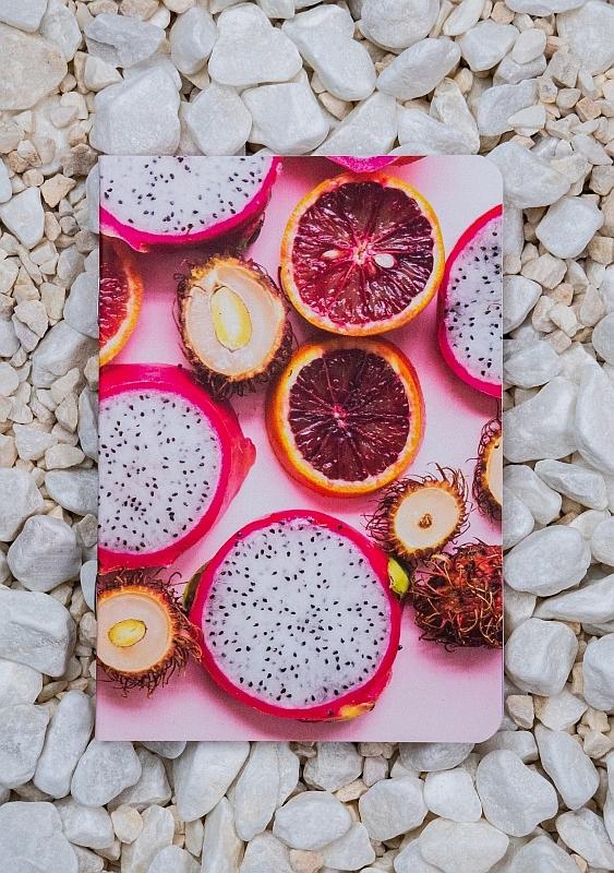 Roca stone paper Notebook - Fruits