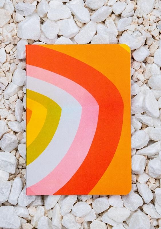 Roca stone paper Notebook - Orange