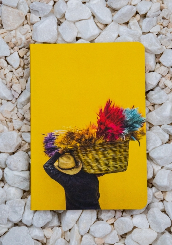 Roca stone paper Notebook - Yellow