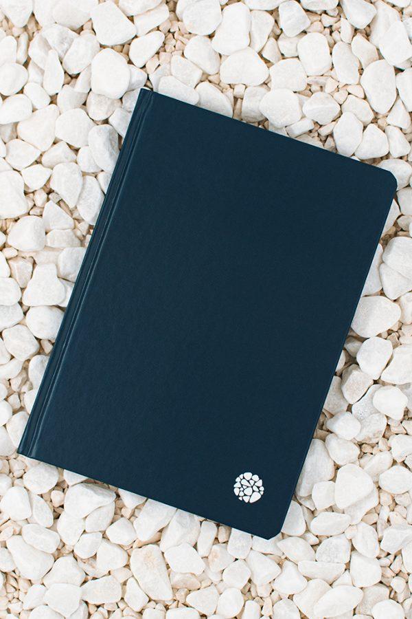 Roca Stone Paper Notebook Hardcover Indigo